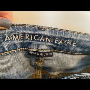 American Eagle Outfitters Jeans - ripped skinny jeans from American Eagle